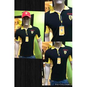 Camisa Ferrari - Camisas Casuales Manga Corta de Hombre en Mercado ... 8ddf0bb2697