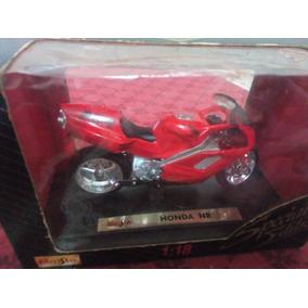 Miniatura Moto Honda Nr Escala 1:18 Maisto