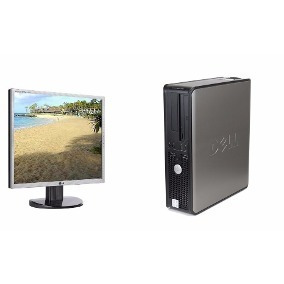 Kit Desktop Completa Dual Core/ 2 Gb Hd 160/monitor 15 Wifi