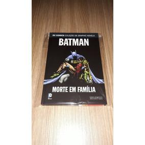 Dc Graphic Novels Nº11 - Batman: Morte Em Família (seminovo)