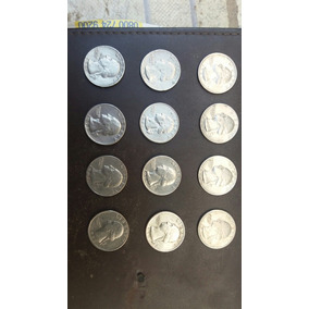 Moeda Rara 0,25 Cents Americana 1970