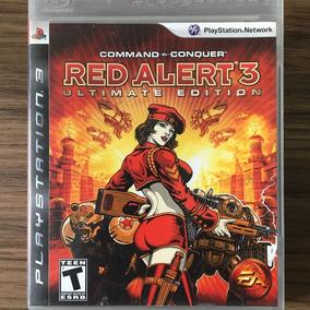 Jogo Red Alert 3 Ultimate Edition - Ps3 - Seminovo Físico