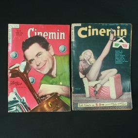 Duas Revistas Cinemin Nºs 30 E 57 - Da Década De 1950