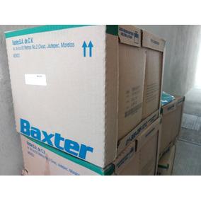 Cajas Diálisis Baxter Manual Verde C/8 Bolsas