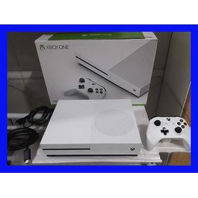 Xbox One S 500gb Console Completo + Jogo Brinde Xone