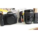 Camara Reflex Profecional Canon 7d Como Nueva Sin Fallas
