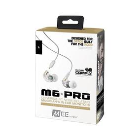 Fone In Ear Mee Audio M6 Pro Monitor Retorno Palco 2ª Geraçã