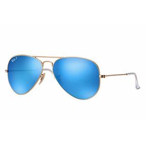 951ef55dffda3 Óculos Ray Ban Aviador Lente Azul - Óculos no Mercado Livre Brasil