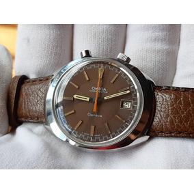 Relógio Omega Chronostop Aço À Corda Masculino Original