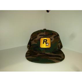 Gorra Plana Rockstar. Bordada En 2d Realzado. Snapback 025c16dc54e