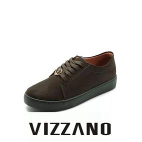 Tênis Feminino Vizzano Telha Verde 1214.277 Nobuck