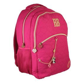 Mochila Escolar Laptop Rebecca Bonbon 8175 Clio