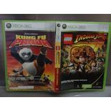 Lego Indiana Jones Y Kung Fu Panda Xbox 360