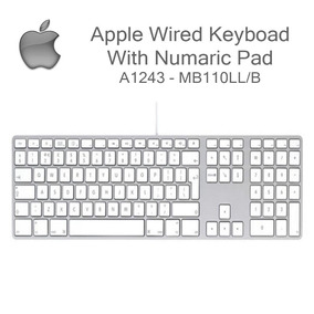 Apple Teclado Modelo No : A1243 En Perfectas Condiciones