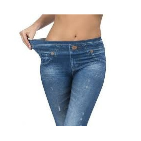Pak 3 Calzas Leggins Slim Tipo Jeans Tallas Oferta X 3