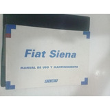 Fiat Siena Manual De Uso Y Mantenimiento