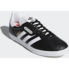 the latest 3af3e d002a Zapatillas adidas Gazelle Hombre De Cuero Original