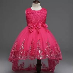 5c376f8445 Vestidos De Fiesta Para Niñas Ampones - Ropa