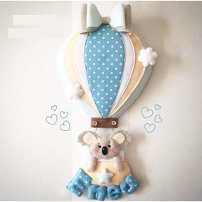 Enfeite Porta Maternidade Feltro - Quadros Decorativos no Mercado ... a118a8c08bdfe