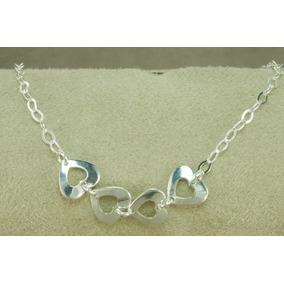Pulseira Em Prata 925 Da Tiffany Corações - Joias e Bijuterias no ... a29a4bde3b