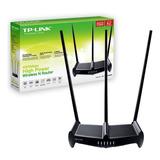 Router Wifi Tp Link 941hp 450mbps 3 Antenas Rompemuros Envio
