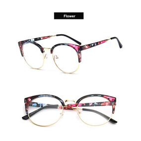 Armação Óculos Para Grau Retro Vintage Estilosa Acessório Oa 001e7d88f3