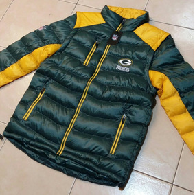 Nfl Green Bay Packers Chamarra Desmontable Chaleco Con Envio ab637a4496a