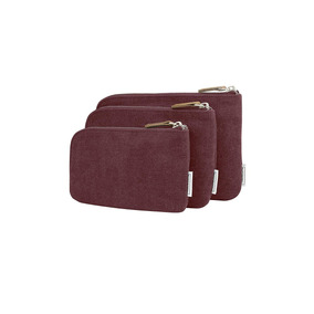 Travelon Heritage Set De 3 Bolsas , Vino