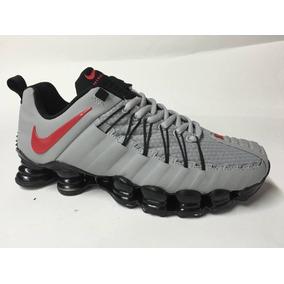 8b711c06037 Tenis Nike 12 Molas Masculino Primeira Linha - Tênis Prateado no ...