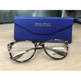 b488cca9e4a00 Armação Óculos De Grau Feminina Gatinho Tigrado. R  120
