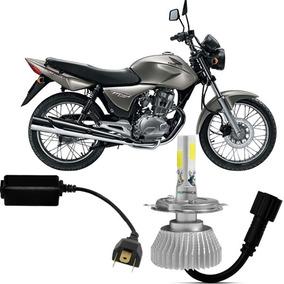 Super Led Moto Cg Titan 150 Lampada 6000k Tp Xenon 4000lm 3d