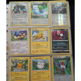 Cartas Pokemon Tcg - Lote De 95 Cartas Com Raras + Brinde