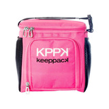 Bolsa Térmica Keeppack Mid Rosa + Kit De Acessórios Kp00003