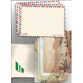 China Cartela Com 4 Cartões Reproduções Antigas Pinturas