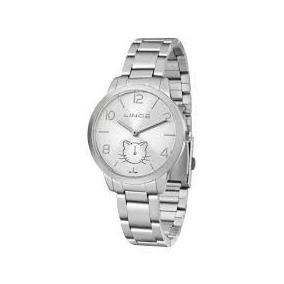 ebcc16f1002 Relógio Feminino Analógico Quartz Lince Lrm4101l S2sx Prata ...