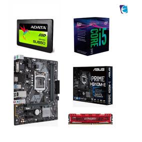 Kit Intel Core I5 8400 Mb H310m E 8gb Bls Ddr4 Ad Ssd240 I