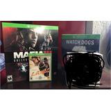 Mafia Lll + Watch Dogs + L.a Noire