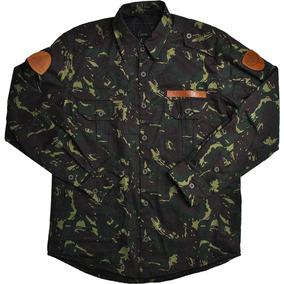 Jaqueta Militar Camuflada Camisologia