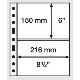 5 Folhas Pet Leuchtturm Grande C - Para Cédulas/documentos