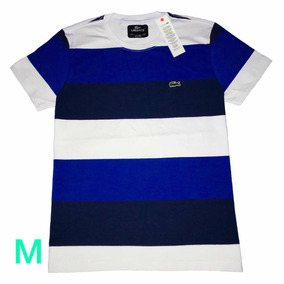 Camiseta Lacoste Masculina Listrada De Camisetas - Camisetas e ... a9e745ea4c