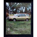 Clipping - Renault 18 Break (agenda Oficial Renault 1983)