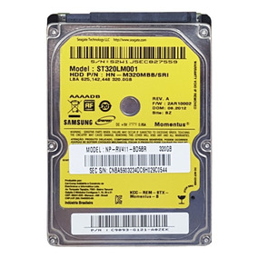 Hd 320 Gb P/ Notebook Dell Inspiron 1525 1526 1545 - 320gb