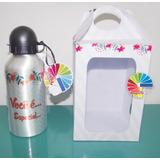 1 Squeeze /garrafa Alumínio Sublimática 500ml Personalizada
