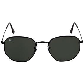 e561cc5c007c6 Oculos De Sol Ray-ban Hexagonal Preto Unissex Promoção
