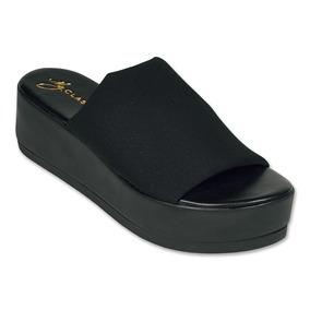 Calzado Dama Mujer Sandalia Clasben Negro Moda Casual Comoda