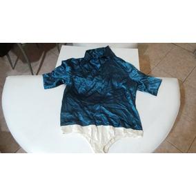 Camisa Tipo Body De Dama Metrostyle Talla 16
