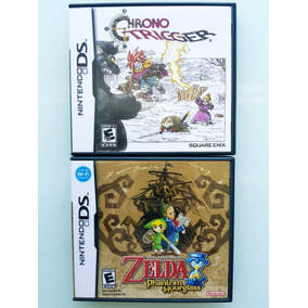 Zelda Phantom + Chrono Trigger Nintendo Ds