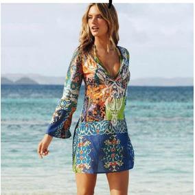 4f53375e1 Vestido Semitransparente Dama Playa Elegante Talla Chica
