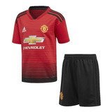 238c3b795 Uniforme Infantil Manchester United Lançamento 2018 Original