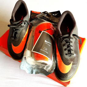 2926363165 Chuteira Hypervenom Futsal Nike Nº 42 + Caneleira M